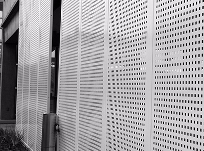 Decorative Perforated Metal Sheet