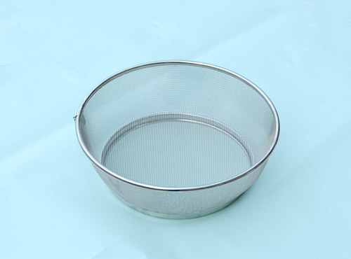 Stainless steel wire washing basket 25cm