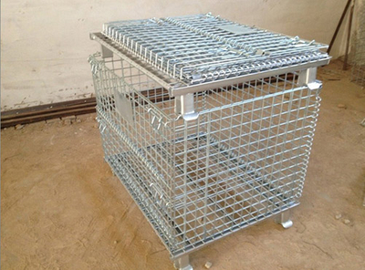 Storage Foldable Wire Mesh Container 800*600*640mm