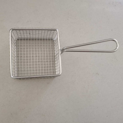 Stainless steel square slotted spoon